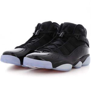 Black Jordan 6 Rings